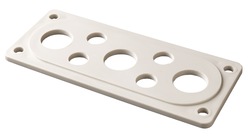 Cable Gland Flanges – plastic